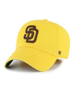 San Diego Padres 47 Brand Yellow Franchise Fitted Hat