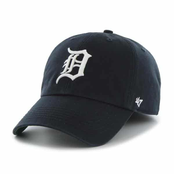 Detroit Tigers 47 Brand Navy Franchise Home Fitted Hat