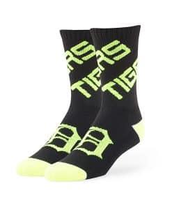 Detroit Tigers Helicoil Sport Socks Black 47 Brand