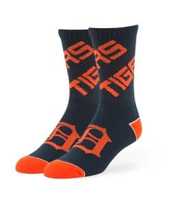 Detroit Tigers Helix Sport Socks Navy 47 Brand