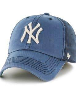 New York Yankees 47 Brand Navy Humboldt Franchise Fitted Hat