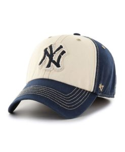 New York Yankees 47 Brand Maestro Navy Franchise Fitted Hat