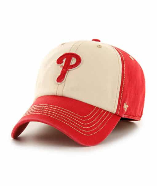 Philadelphia Phillies 47 Brand Maestro Red Franchise Fitted Hat