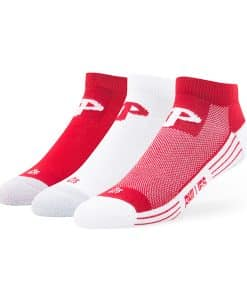 Philadelphia Phillies Skylite Motion Low Cut Socks 3 Pack Team Color 47 Brand