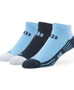 Tampa Bay Rays Skylite Motion Low Cut Socks 3 Pack Team Color 47 Brand