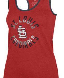 St. Louis Cardinals Women's 47 Brand Red Club Tank Top