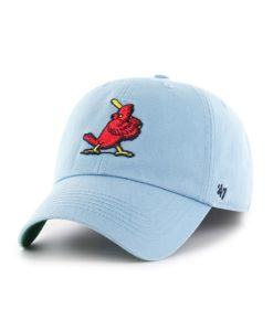 St. Louis Cardinals 47 Brand Cooperstown Columbia Franchise Fitted Hat