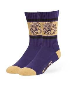 James Madison Dukes Duster Sport Socks Purple 47 Brand