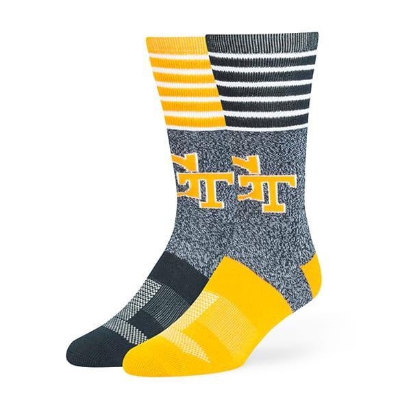 Georgia Tech Yellow Jackets Vernon Fuse Socks Navy 47 Brand
