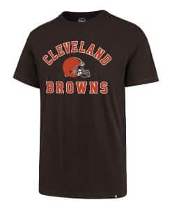 Cleveland Browns Men's 47 Brand Brown Rival T-Shirt Tee