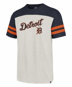 Detroit Tigers Men's 47 Brand Sandstone Club Jersey T-Shirt Tee