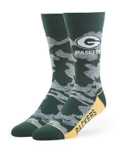 Green Bay Packers 47 Brand Dark Green Bayonet Fuse Socks