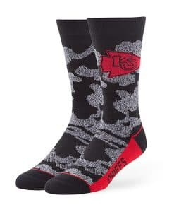 Kansas City Chiefs Bayonet Fuse Socks Black 47 Brand