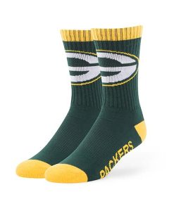Green Bay Packers 47 Brand Dark Green Bolt Sport Socks