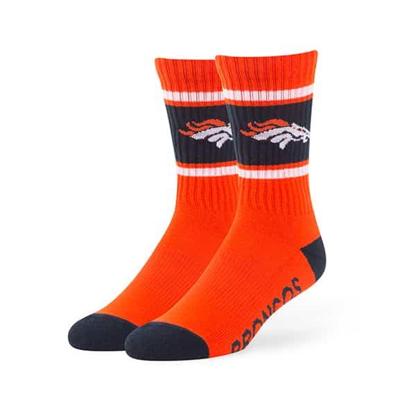 Denver Broncos Duster Sport Socks Orange 47 Brand