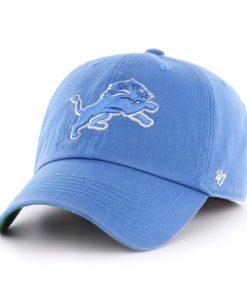 Detroit Lions 47 Brand Blue Raz Franchise Fitted Hat