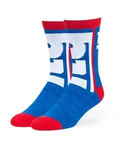 New York Giants Hot Box Sport Socks Royal 47 Brand