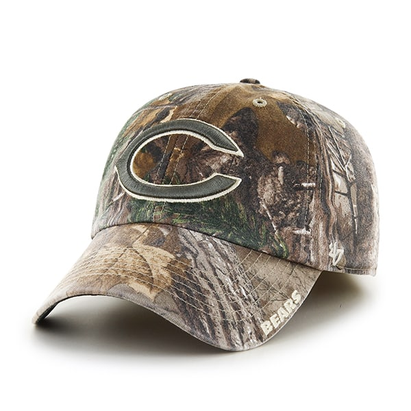 Chicago Bears 47 Brand Realtree Camo Franchise Fitted Hat