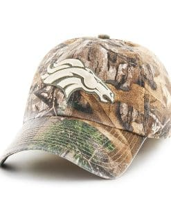 Denver Broncos Realtree Franchise 47 Brand Fitted Hat