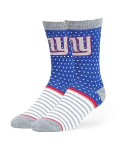 New York Giants Willard Flat Knit Socks Royal 47 Brand