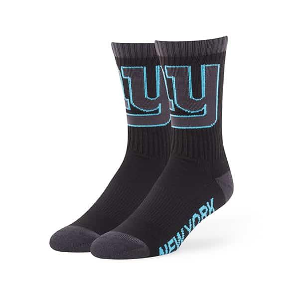 New York Giants Warrant Sport Socks Black 47 Brand