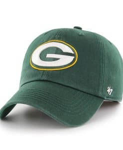 Green Bay Packers Franchise Dark Green 47 Brand Fitted Hat
