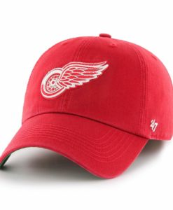 Detroit Red Wings 47 Brand Red Franchise Fitted Hat