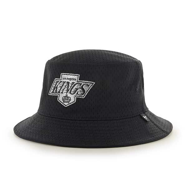 Los Angeles Kings Backboard Bucket Hat Black 47 Brand