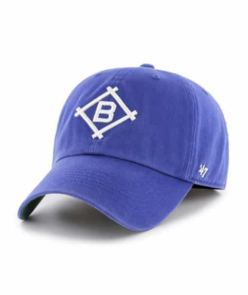 Los Angeles Brooklyn Dodgers 47 Brand Blue Franchise Fitted Hat