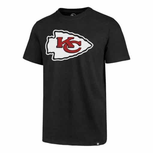 Kansas City Chiefs Men's 47 Brand Black Club T-Shirt Tee