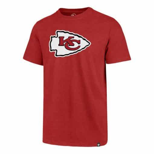 Kansas City Chiefs Men's 47 Brand Red Club T-Shirt Tee