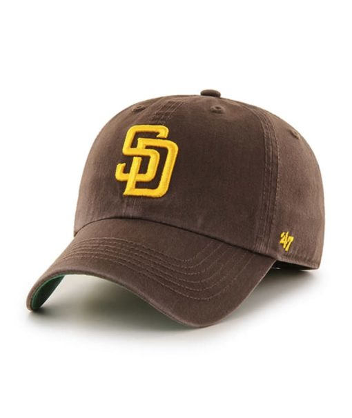 San Diego Padres 47 Brand Brown Franchise Fitted Hat