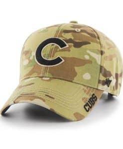 Chicago Cubs 47 Brand Camo MVP Multicam Adjustable Hat