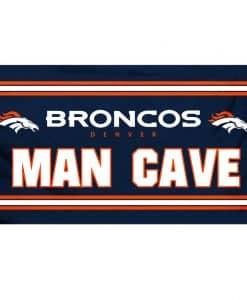Broncos 3'x5' Man Cave Flag