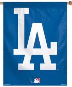 LA Dodgers 27 x 37 Vertical Flag