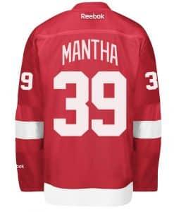 Anthony Mantha Men's Detroit Red Wings Reebok Premier Home Jersey