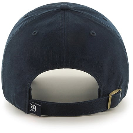 Detroit Tigers Pride Clean Up Navy 47 Brand Adjustable Hat Back