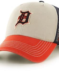 Detroit Tigers Mcnally Closer Navy 47 Brand Stretch Fit Hat