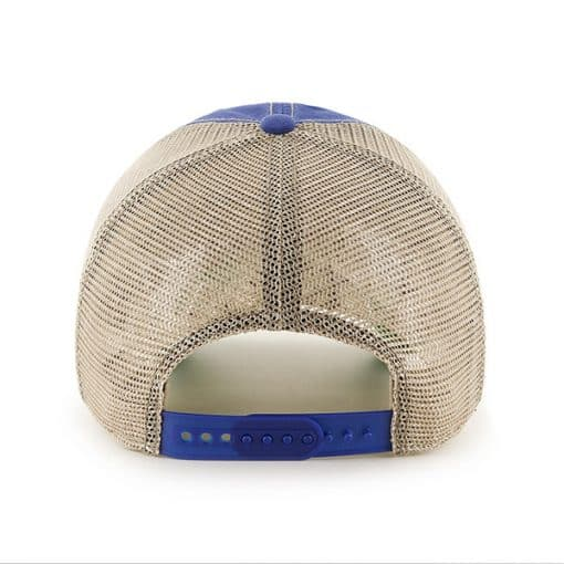 New York Giants Tuscaloosa Clean Up Vintage Blue 47 Brand Adjustable Hat Back