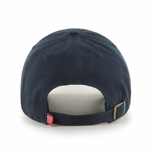 Washington Nationals Pride Clean Up Navy 47 Brand Adjustable Hat Back