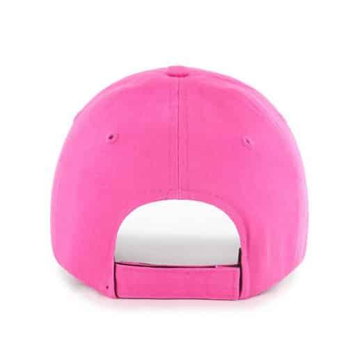 Detroit Tigers 47 Brand Bright Pink Girls KIDS Adjustable Hat Back