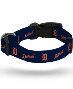 Detroit Tigers Navy Dog Collar