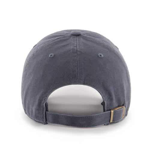 Los Angeles Dodgers 47 Brand Vintage Navy Clean Up Adjustable Hat Back