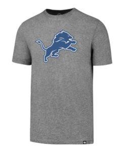 Detroit Lions Men's 47 Brand Slate Grey T-Shirt Tee