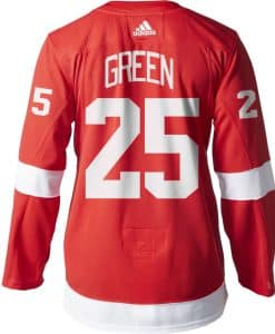 Mike Green Detroit Red Wings Men's Adidas AUTHENTIC Home Jersey