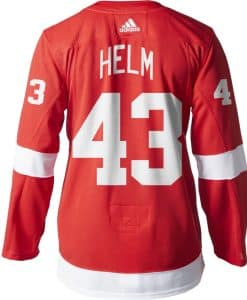 Darren Helm Detroit Red Wings Men's Adidas AUTHENTIC Home Jersey