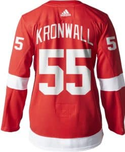 Kronwall Detroit Red Wings Men's Adidas AUTHENTIC Home Jersey