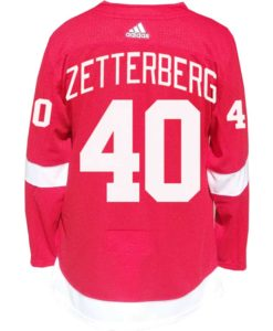 Zetterberg Detroit Red Wings Men's Adidas AUTHENTIC Home Jersey