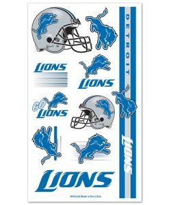 Detroit Lions Temporary Tattoos