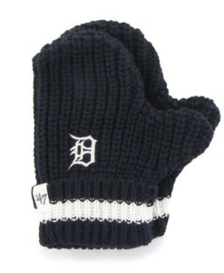 Detroit Tigers 47 Brand TODDLER Navy Knit Mittens